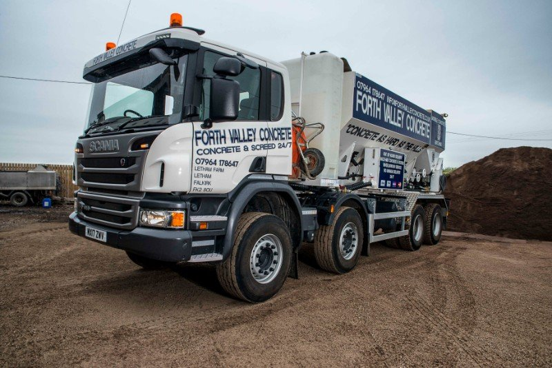 concrete suppliers throughout scotland   forth valley concrete uk