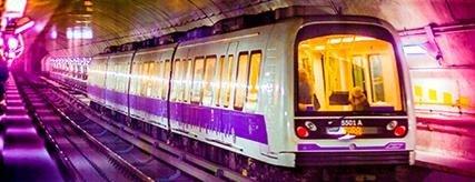 Metro lilla