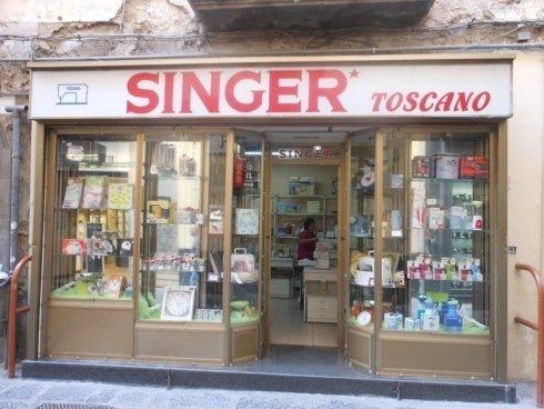 negozio singer nola