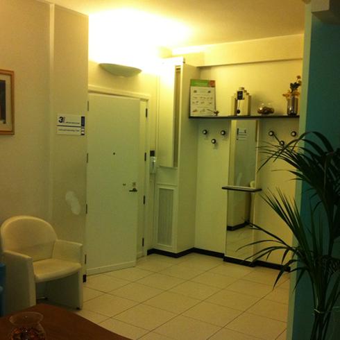 Sala attesa cure odontotecniche