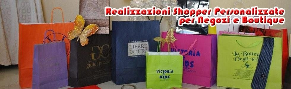 shopper personalizzate per attività commerciali