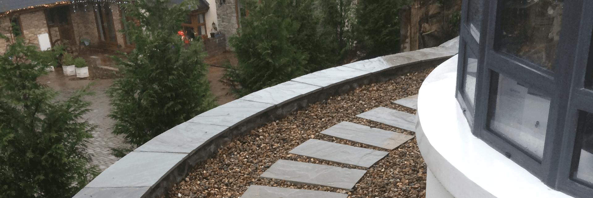 A new garden path