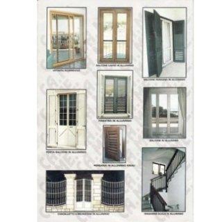 vetrate e ringhiere