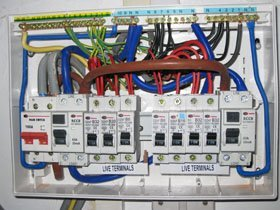 Complete rewiring - Wolverhampton, Birmingham, Dudley - A Star Electrical Ltd - electric box