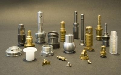 Manufacture of small metal parts and turned components