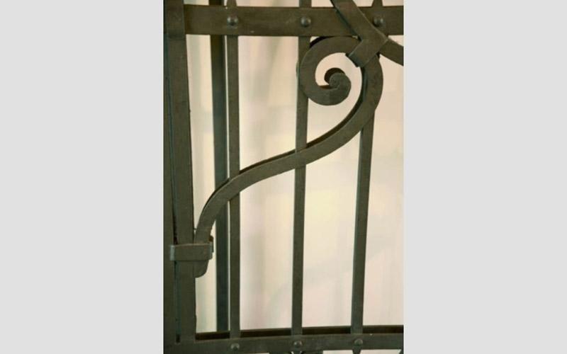 decorazione in ferro battuto