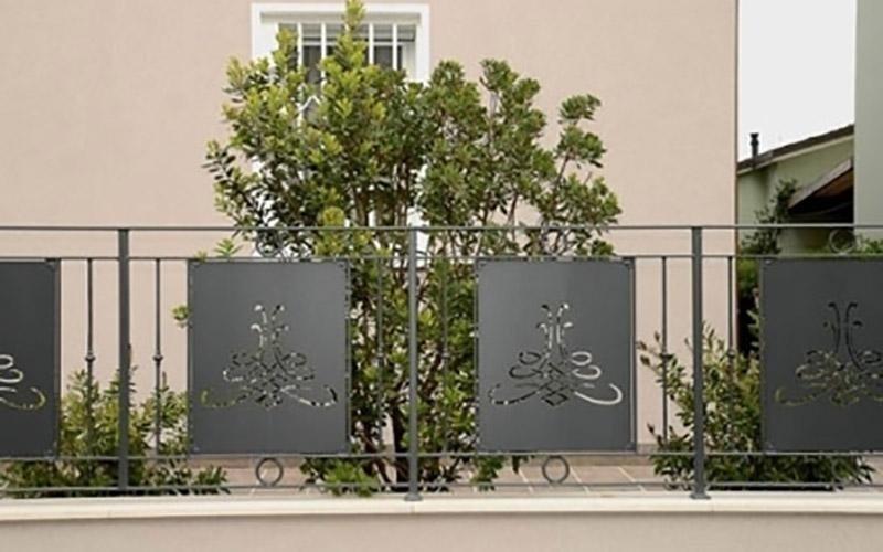 recinzione in ferro battuto