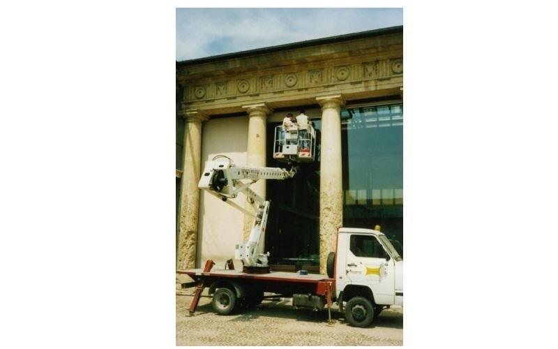 pulizia monumenti storici