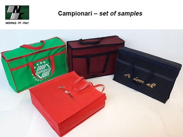 Campionari – set of samples
