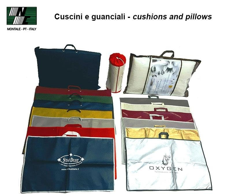 Cuscini e guanciali - cushions and pillows