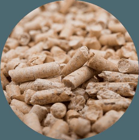 pellet e prodotti per il riscaldamento