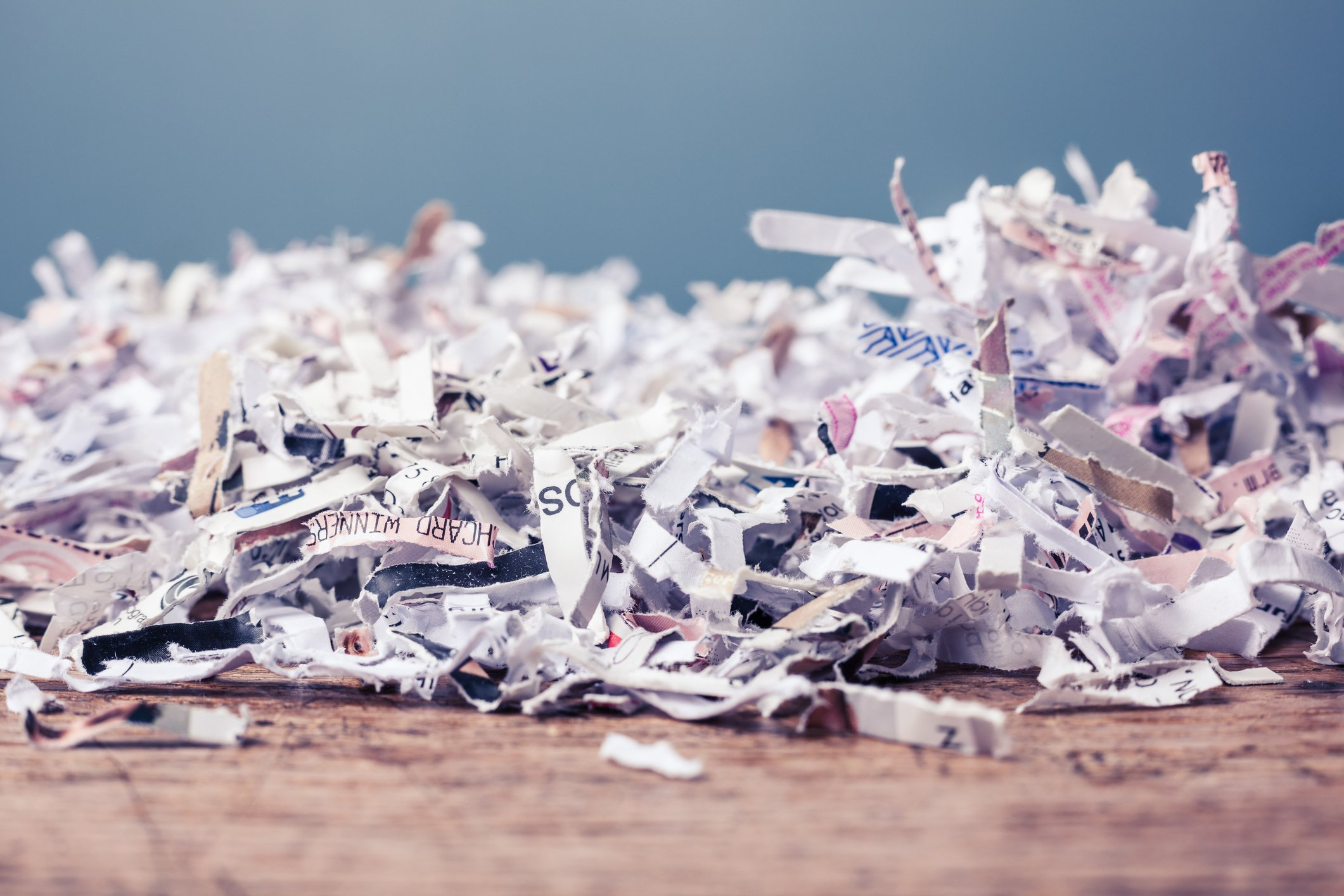secure document shredding & destruction