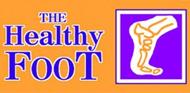 the healthy foot logo