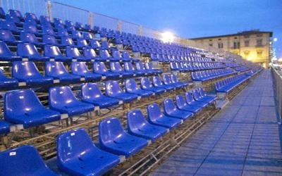 tribuna modulare carnevale di Viareggio