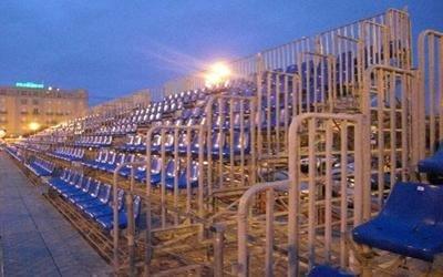 tribune modulari carnevale Viareggio