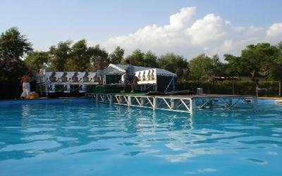 passerella per piscina