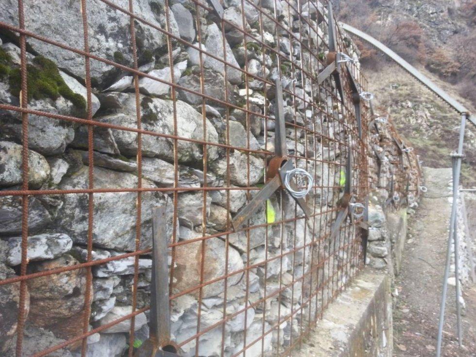 ancoraggio muri