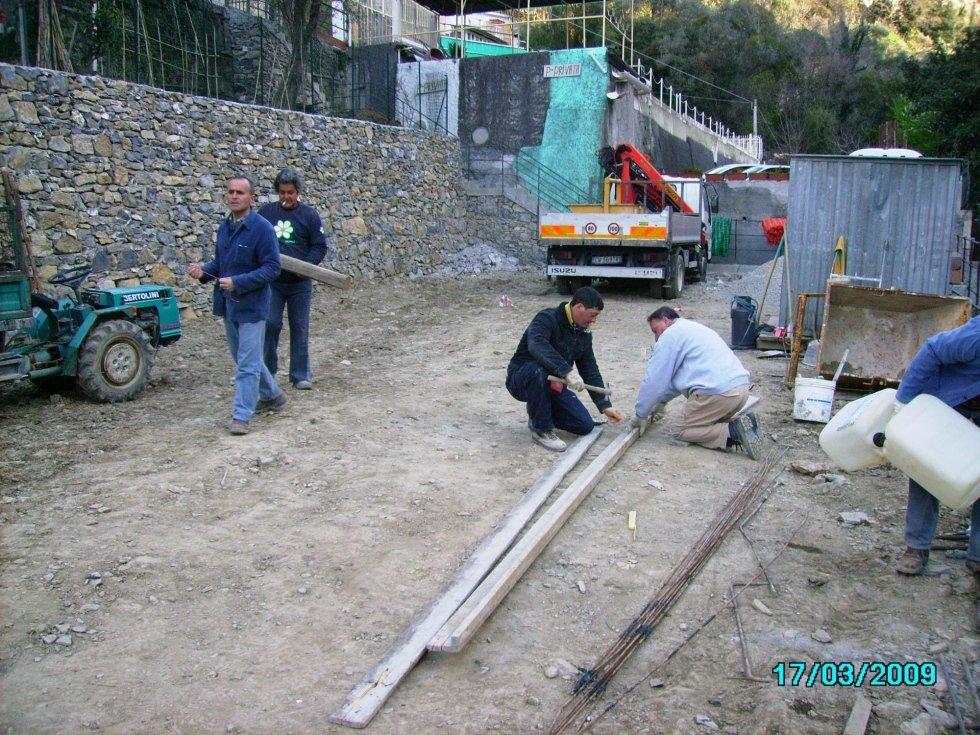 costruzione box privato