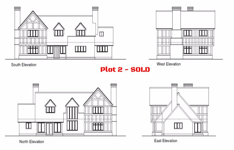 Plot 2, Limes Paddock, Dorrington, Shropshire - Self Build Building Plot For Sale