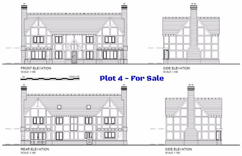 Plot 4, Limes Paddock, Dorrington, Shropshire - Self Build Building Plot For Sale