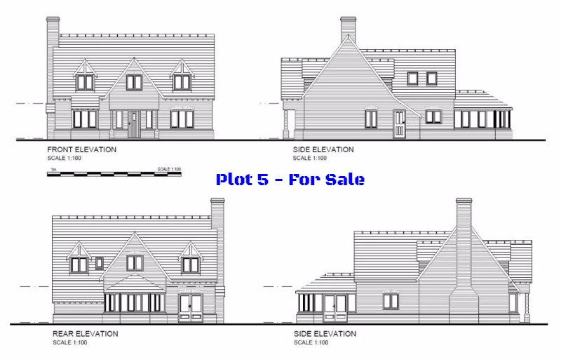 Plot 5, Limes Paddock, Dorrington, Shropshire - Self Build Building Plot For Sale