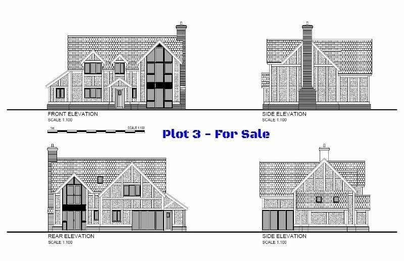 Plot 3, Limes Paddock, Dorrington, Shropshire - Self Build Building Plot For Sale