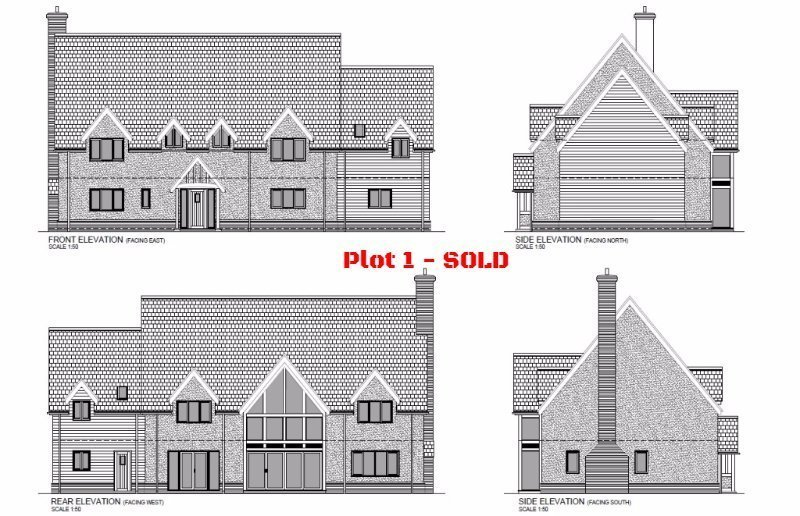 Plot 1, Limes Paddock, Dorrington, Shropshire - Self Build Building Plot For Sale