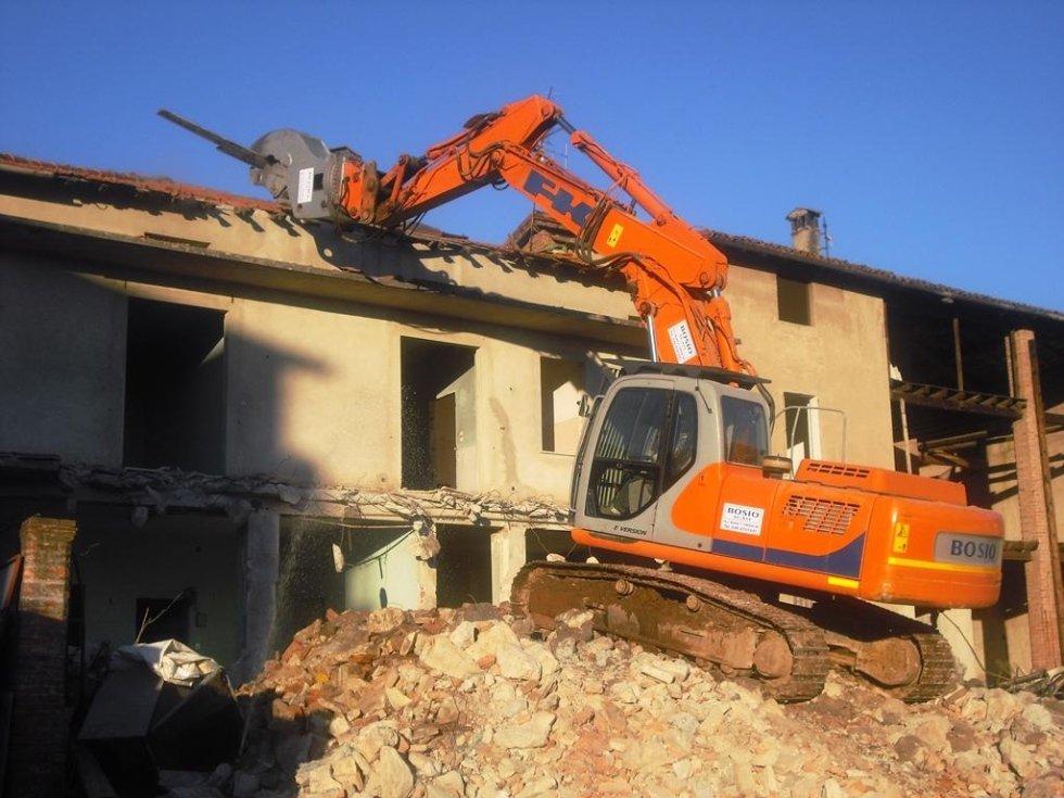 Demolizioni edili di edifici
