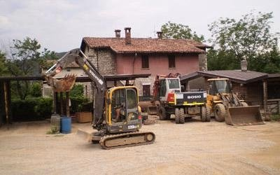 scavi per lavori pubblici