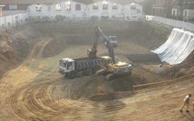 movimentazione terreno per costruzioni
