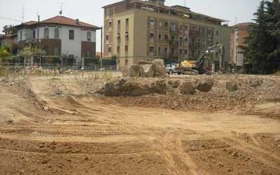escavazioni per fondamenta