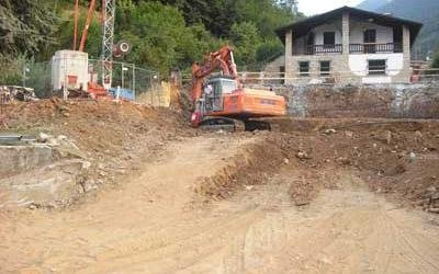 scavi per fondazioni