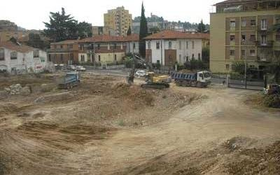 movimentazione terreno per fondamenta
