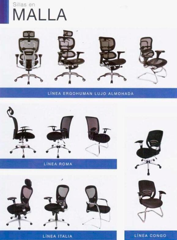 FÁBRICA DE MUEBLES ABC - Sillas para oficina