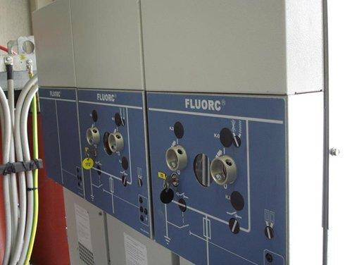 impiantistica industriale con quadro elettrico