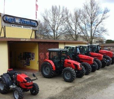 motofalciatrici, rimorchi agricoli