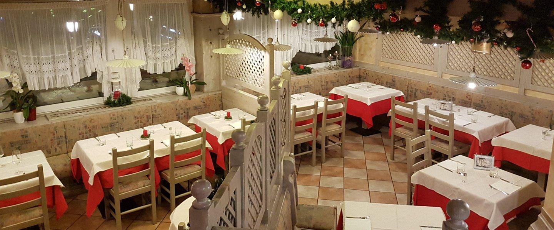 Interno del Ristorante Pizzeria Bar Papillon a Levico Terme