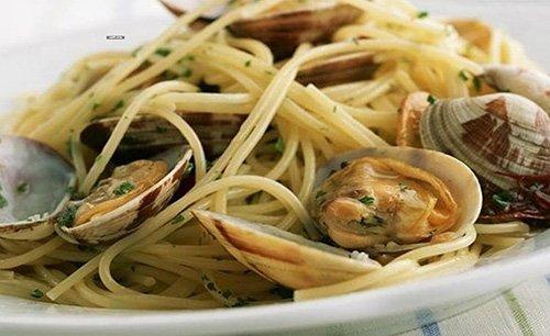 Spaghetti alle vongole a Levico Terme