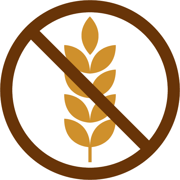 Icona del senza glutine RISTORANTE PIZZERIA BAR PAPILLON a Levico Terme