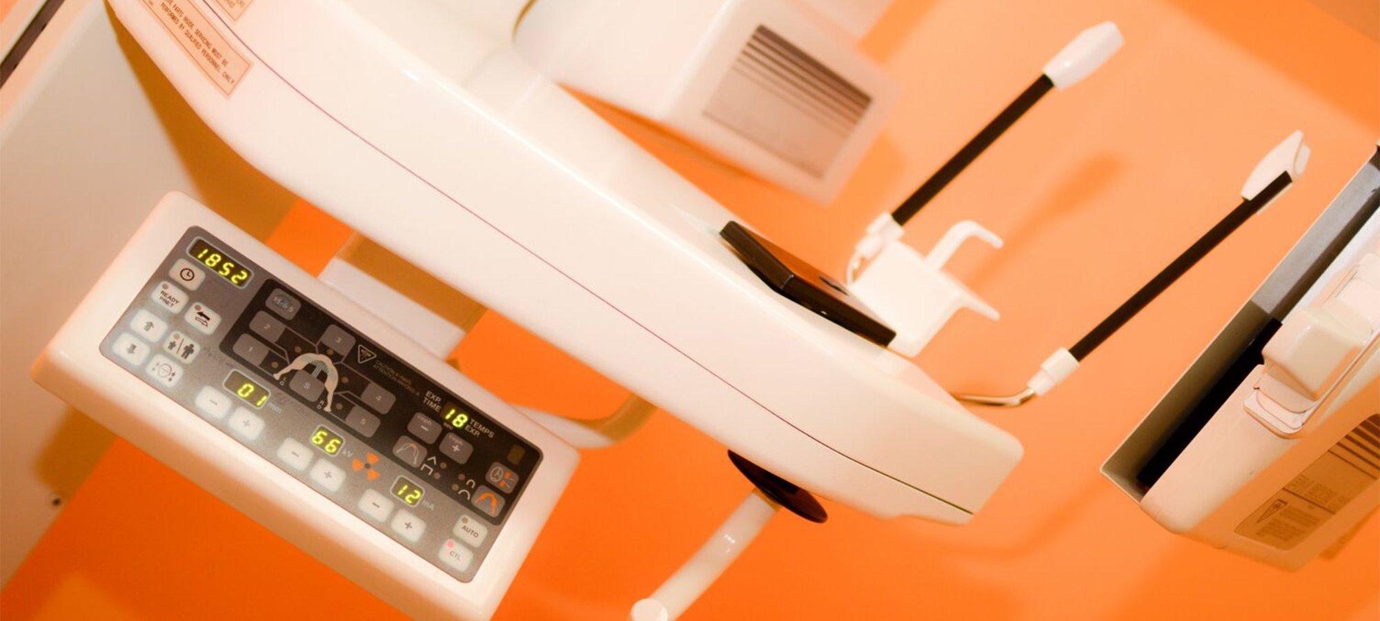 Macchina moderna per radiologia allo studio Radvision a Ceccano