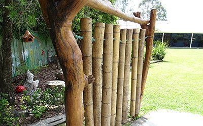 cowarra park preschool and long day care wooden rods for decoration