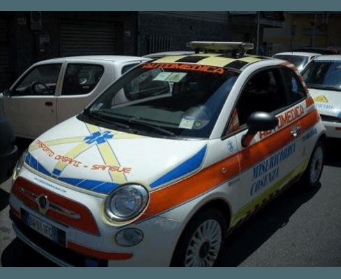 Auto medica Fiat 500