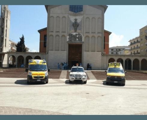 Inaugurazione nuovi automezzi: Cosenza 21/07/2013