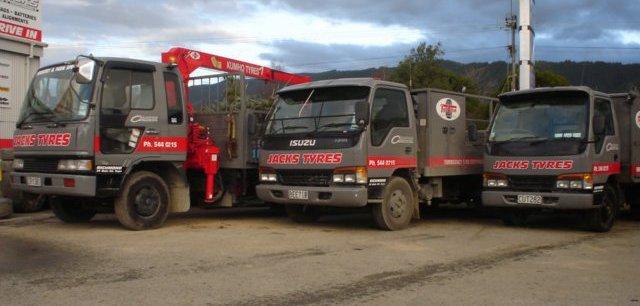 Wheel alignment mobile service trucks in New Zealand