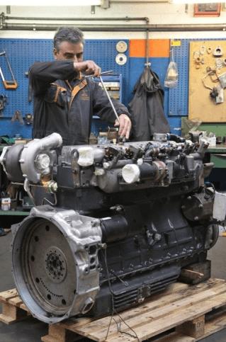 revisione motori e compressione