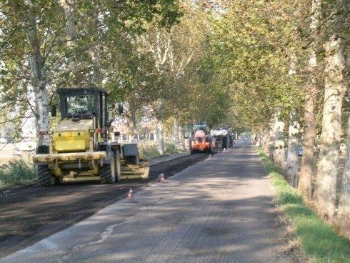 Realizzazione banchina strada