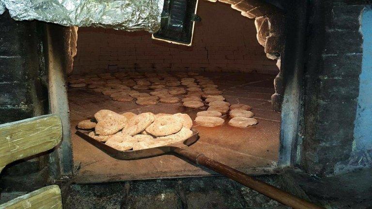 frese cottura forno a legna