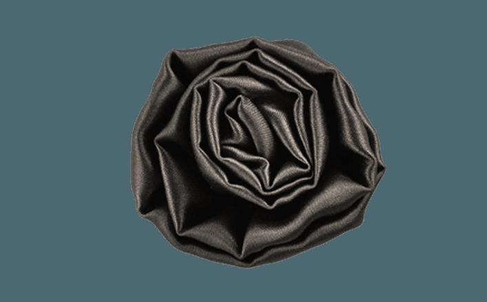 Rosa girata in raso JUSSARA cm05