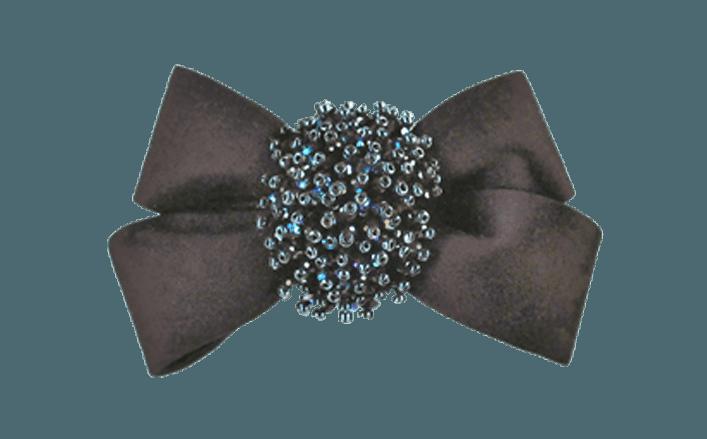 Fiocco in raso con accessorio AMBU cm06