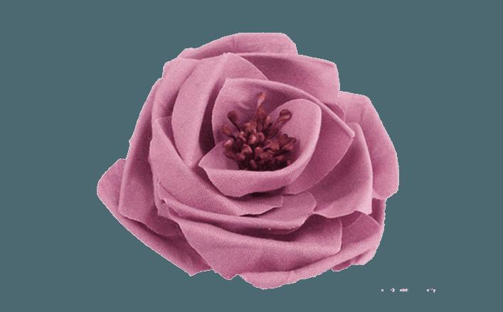 Rosa in lino ARINA cm6